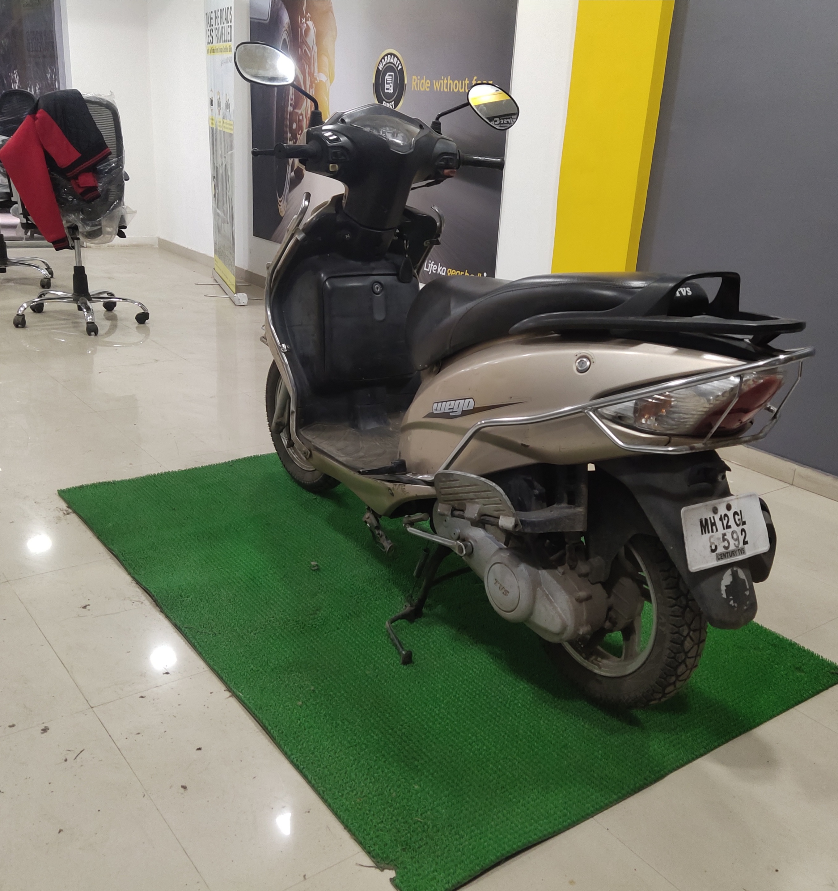 2010 Used Tvs Wego DRUM
