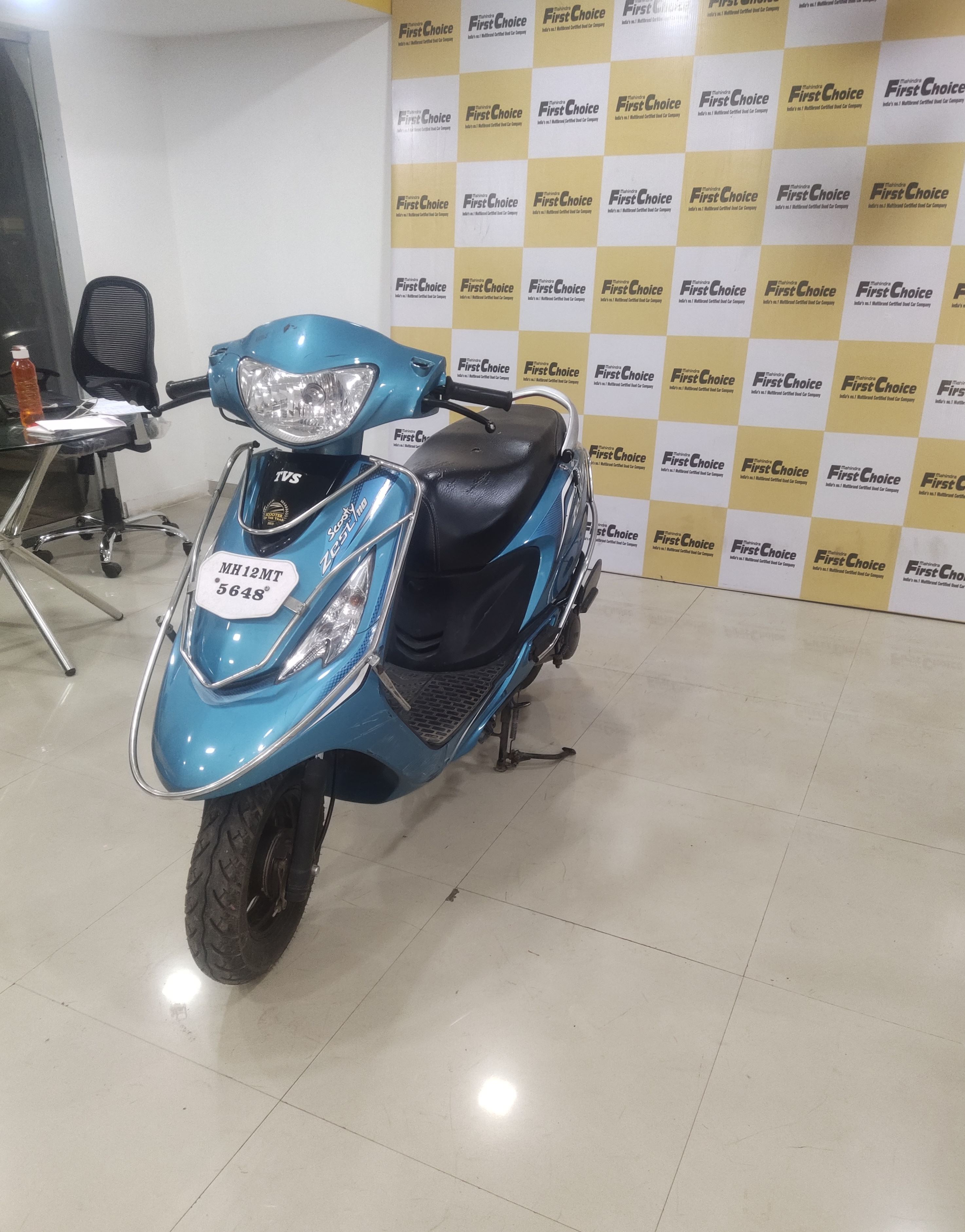 2016 Used Tvs Scooty Zest 110 HIMALAYAN HIGHS