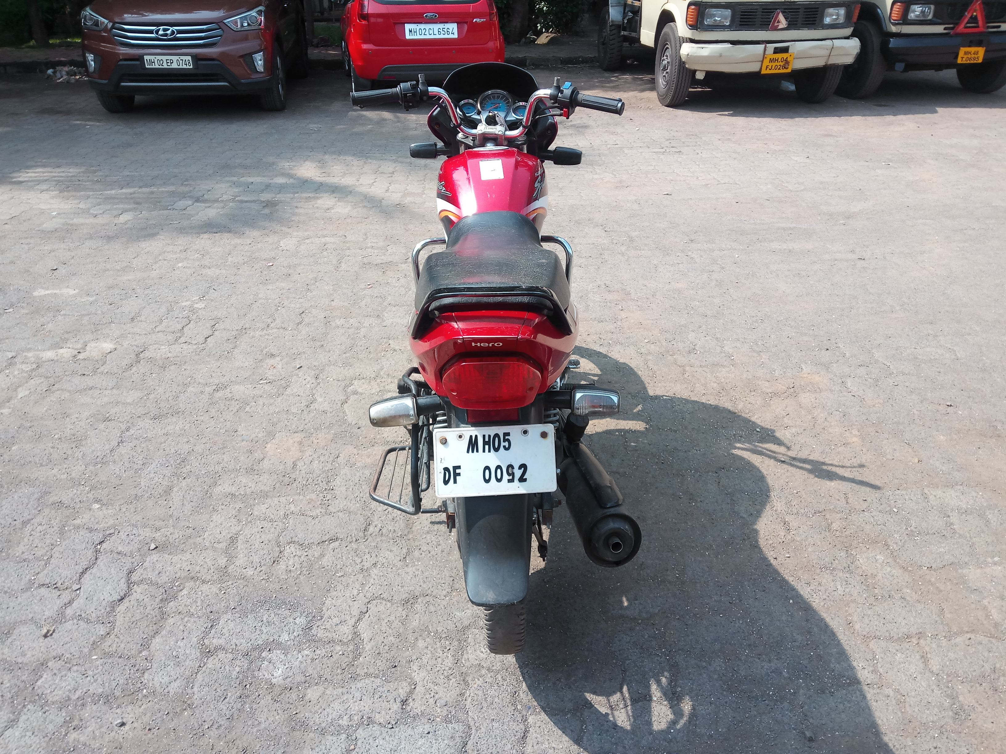 2017 Used Hero Super Splendor(2005-2017) ELECTRIC START