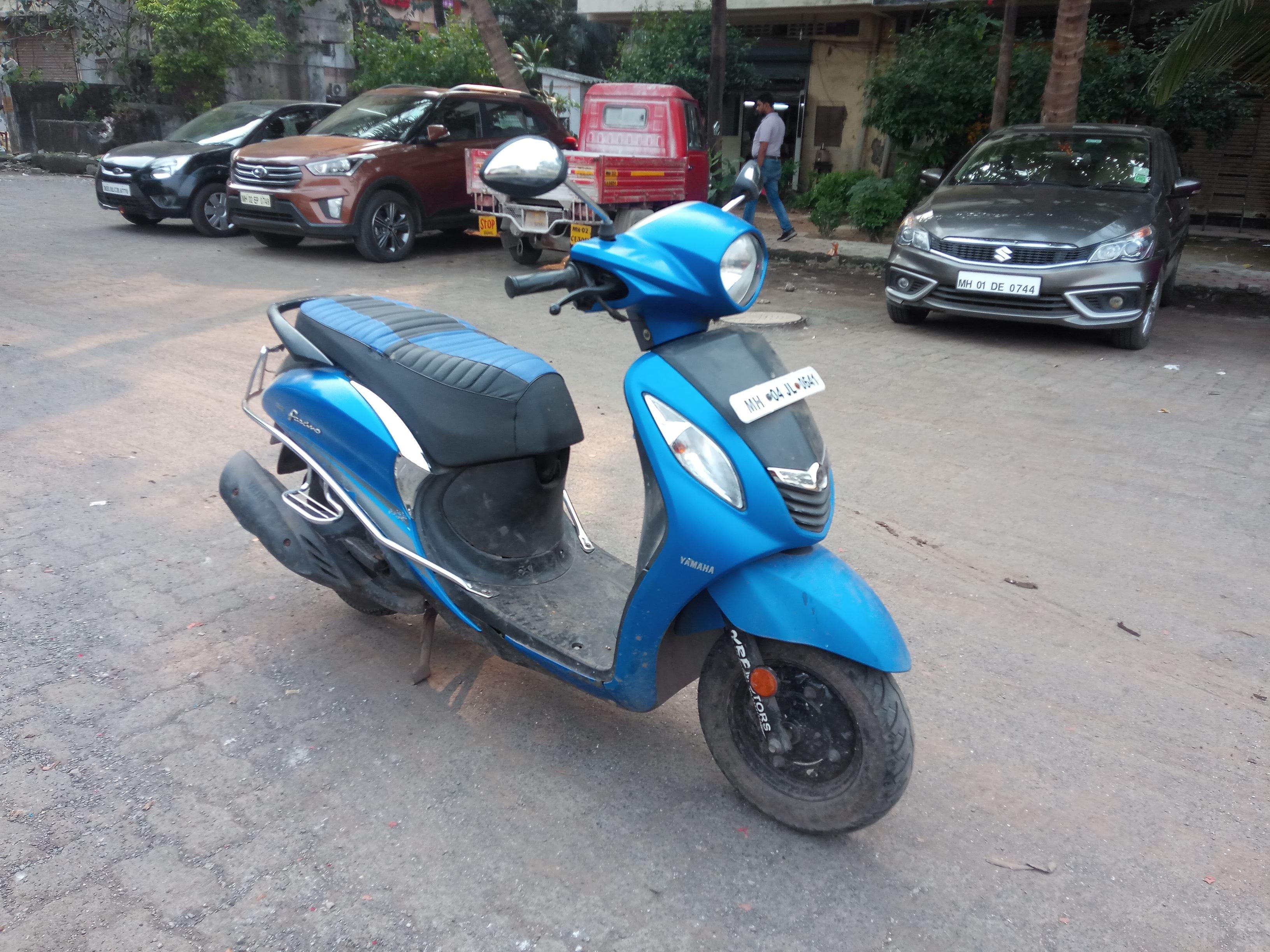 2017 Used Yamaha Fascino STANDARD