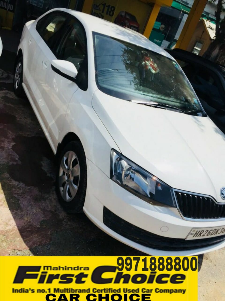2017 Used Skoda Rapid 1.6 TDI MT ACTIVE