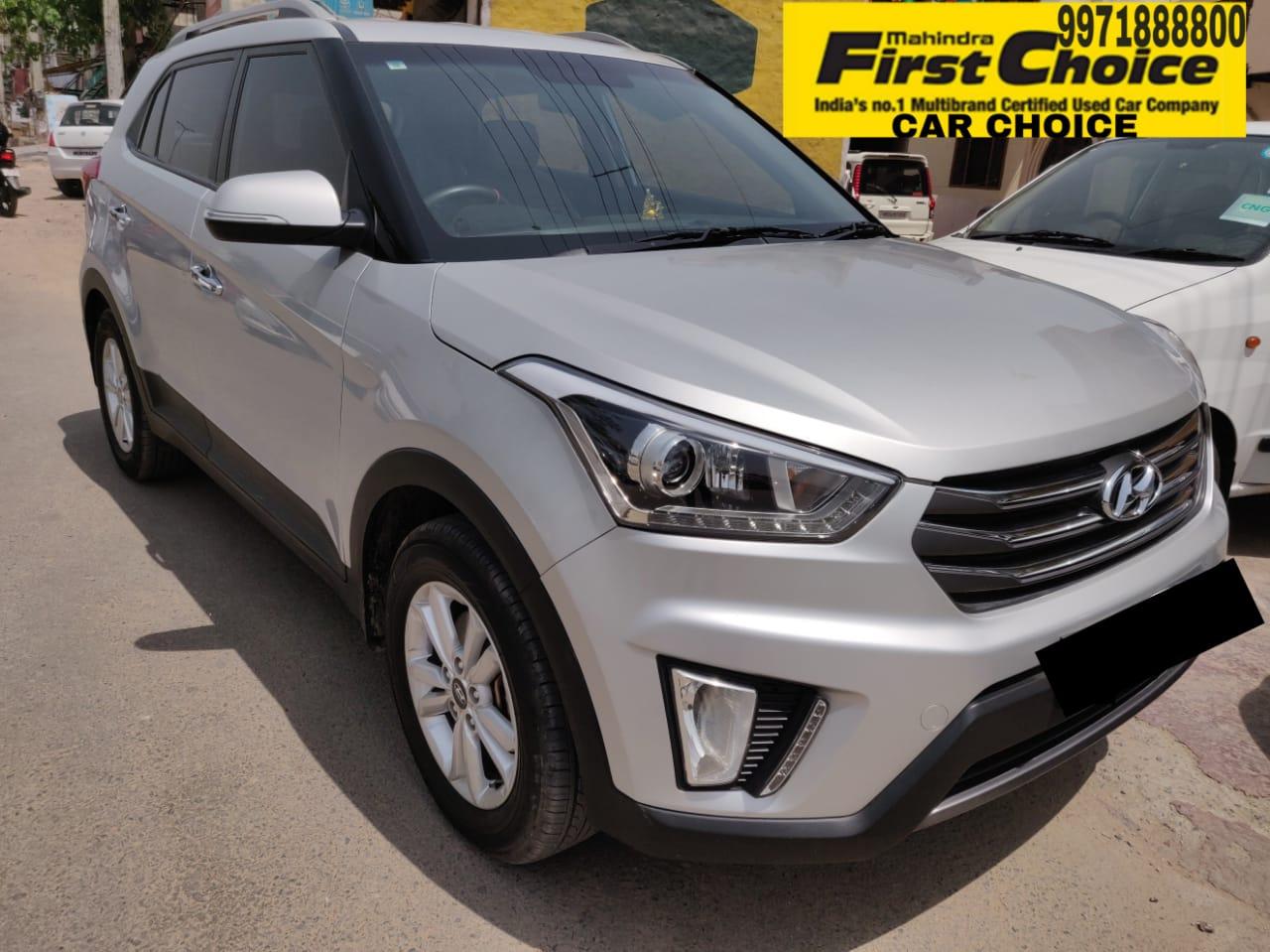 Used Hyundai Creta In Delhi Mahindra First Choice