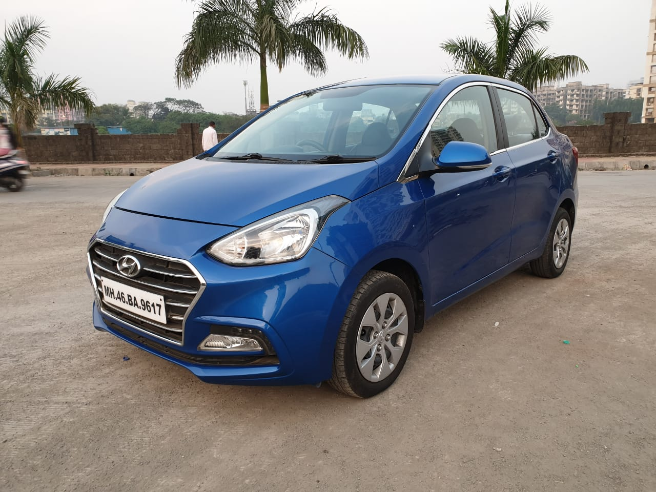 2017 Used Hyundai Xcent S AT 1.2 OPT