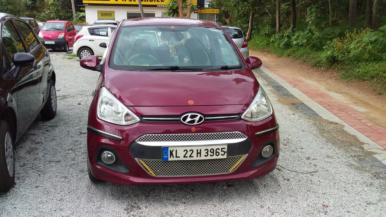 2015 Used Hyundai Grand I 10 MAGNA 1.0 KAPPA VTVT LPG