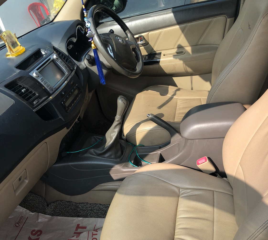 2013 Used Toyota Fortuner (2012_2016) 3.0 4X4 MT
