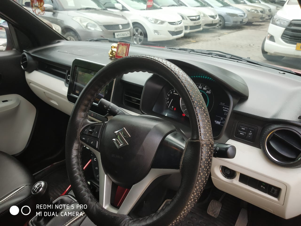 2017 Used Maruti Suzuki Ignis ALPHA 1.2 MT