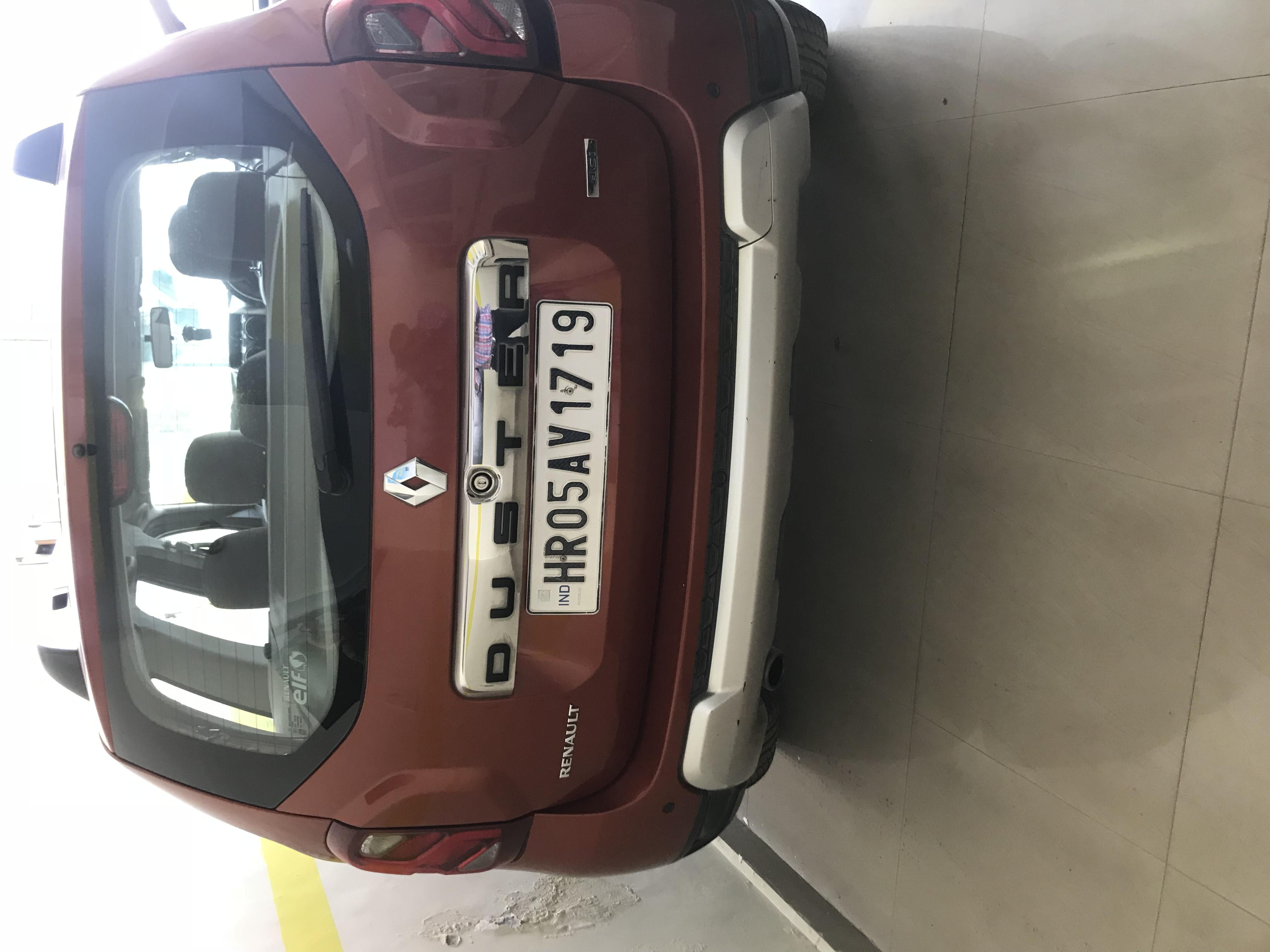 2017 Used Renault Duster 110 PS RXZ DIESEL PLUS