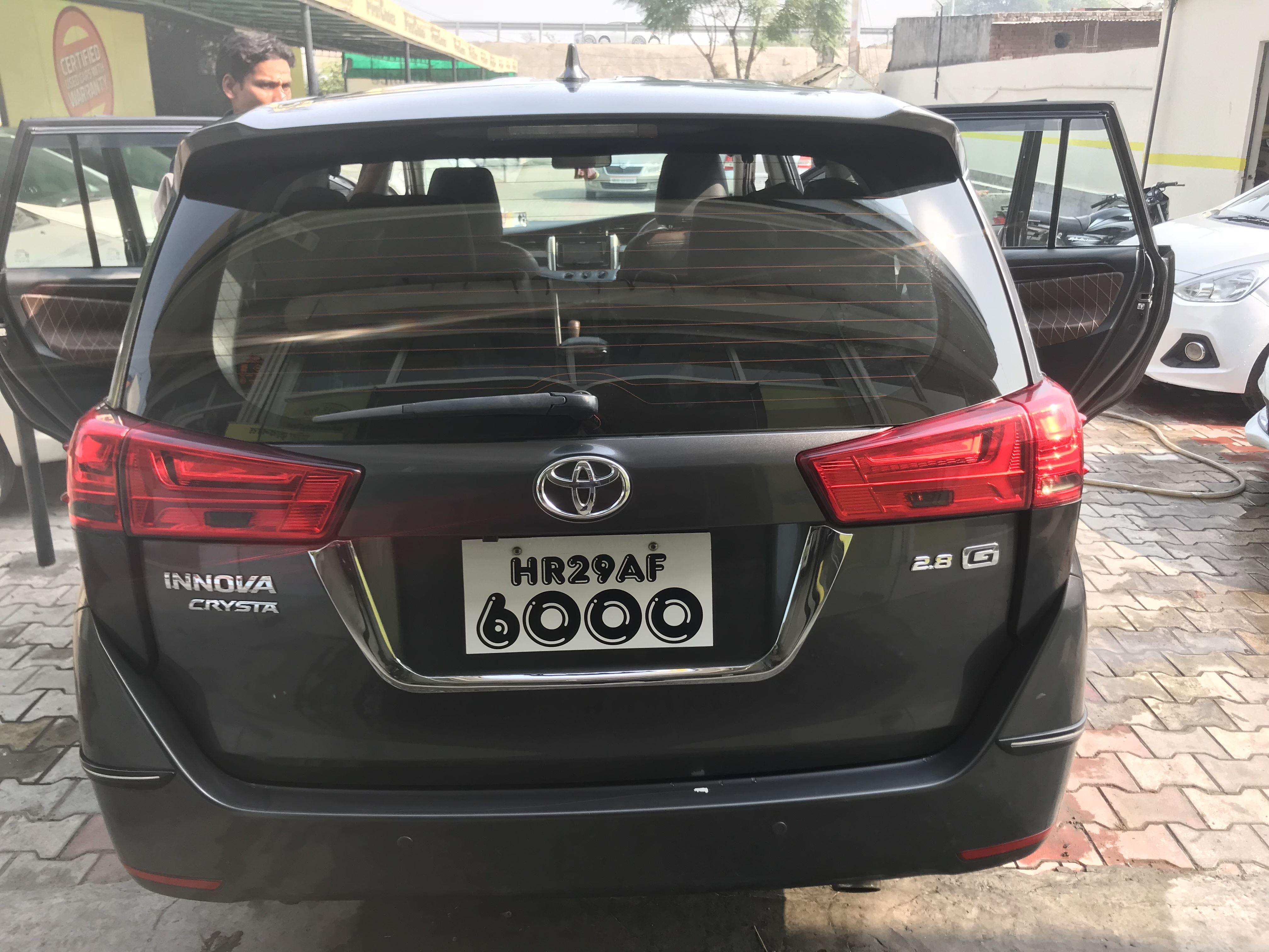 2017 Used Toyota Innova Crysta 2.8 GX AT 7 STR