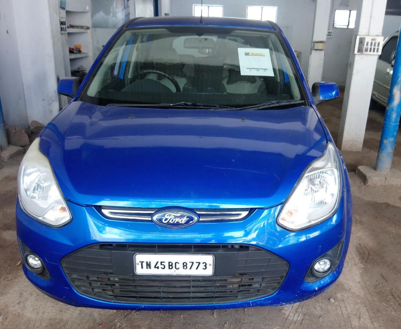 2013 Used Ford Figo DURATORQ TITANIUM 1.4