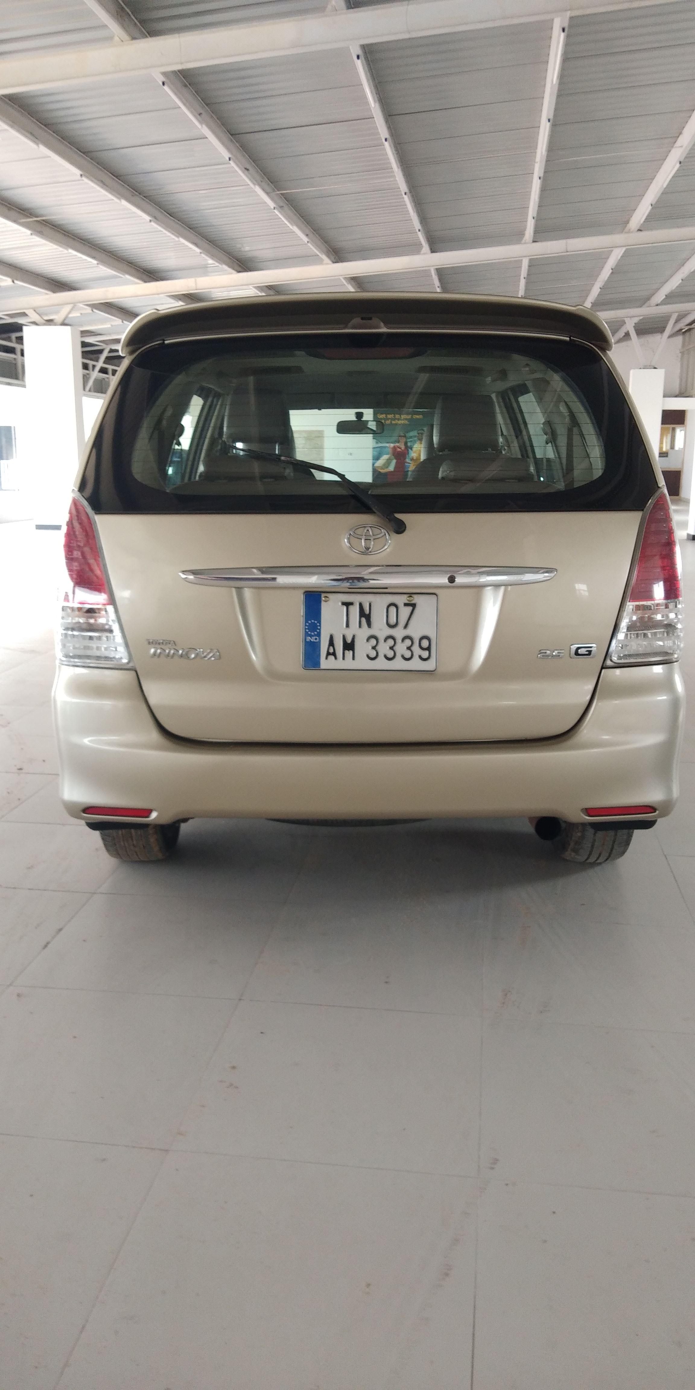 2007 Used Toyota Innova 2.5 G1