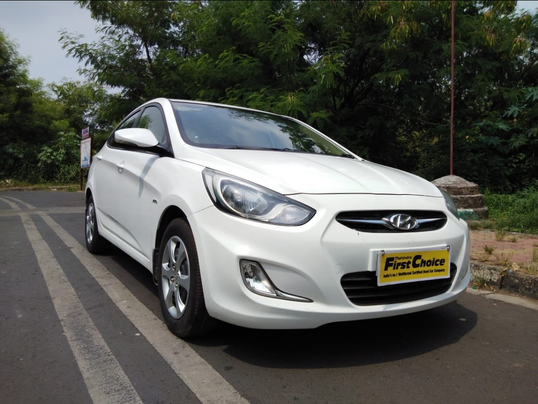 2013 Used HYUNDAI VERNA FLUIDIC 1.6 EX VTVT AT
