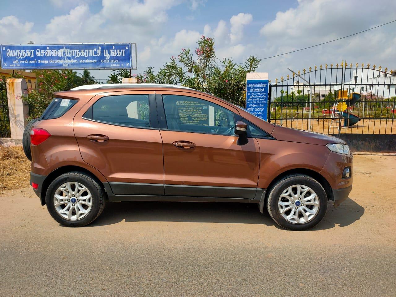 2016 Used Ford Ecosport TITANIUM 1.5 TDCI