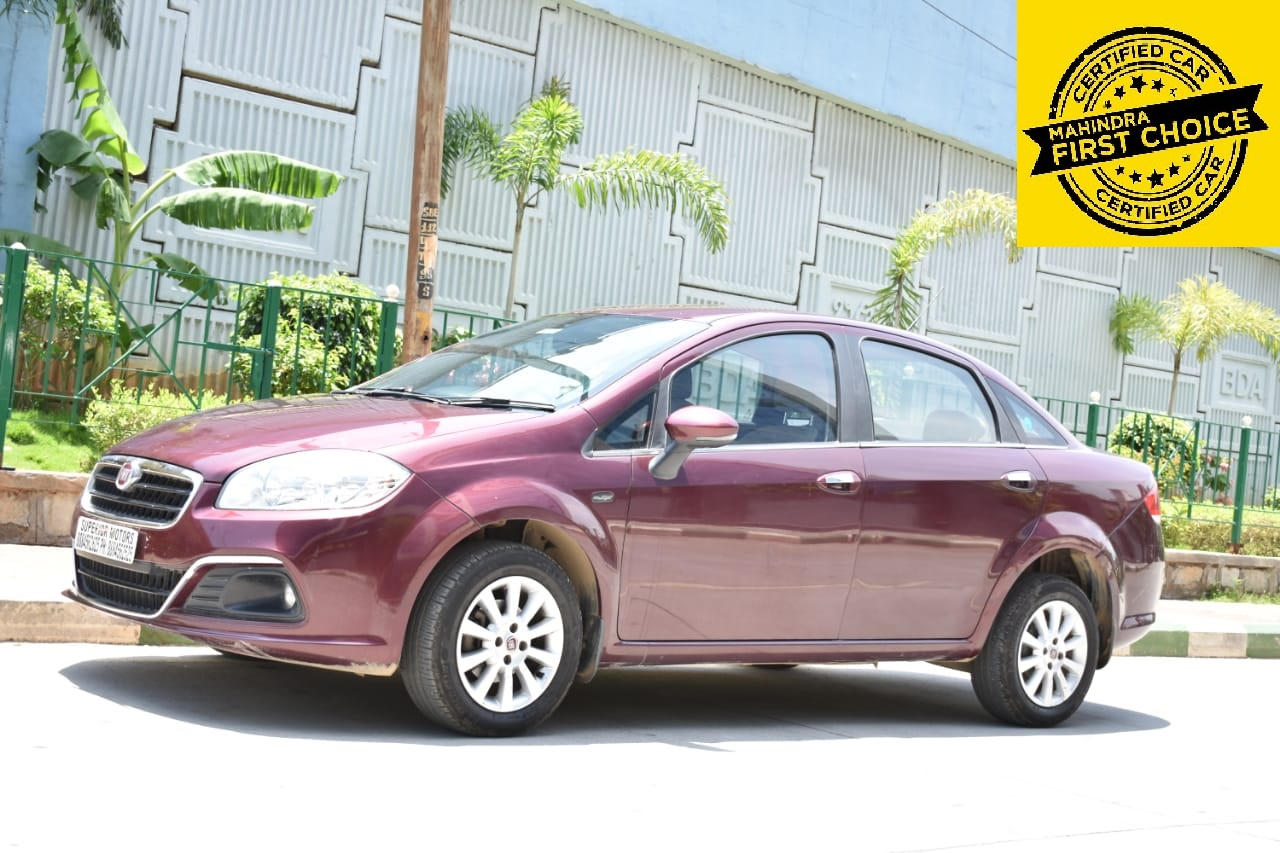 2014 Used FIAT LINEA EMOTION 1.3