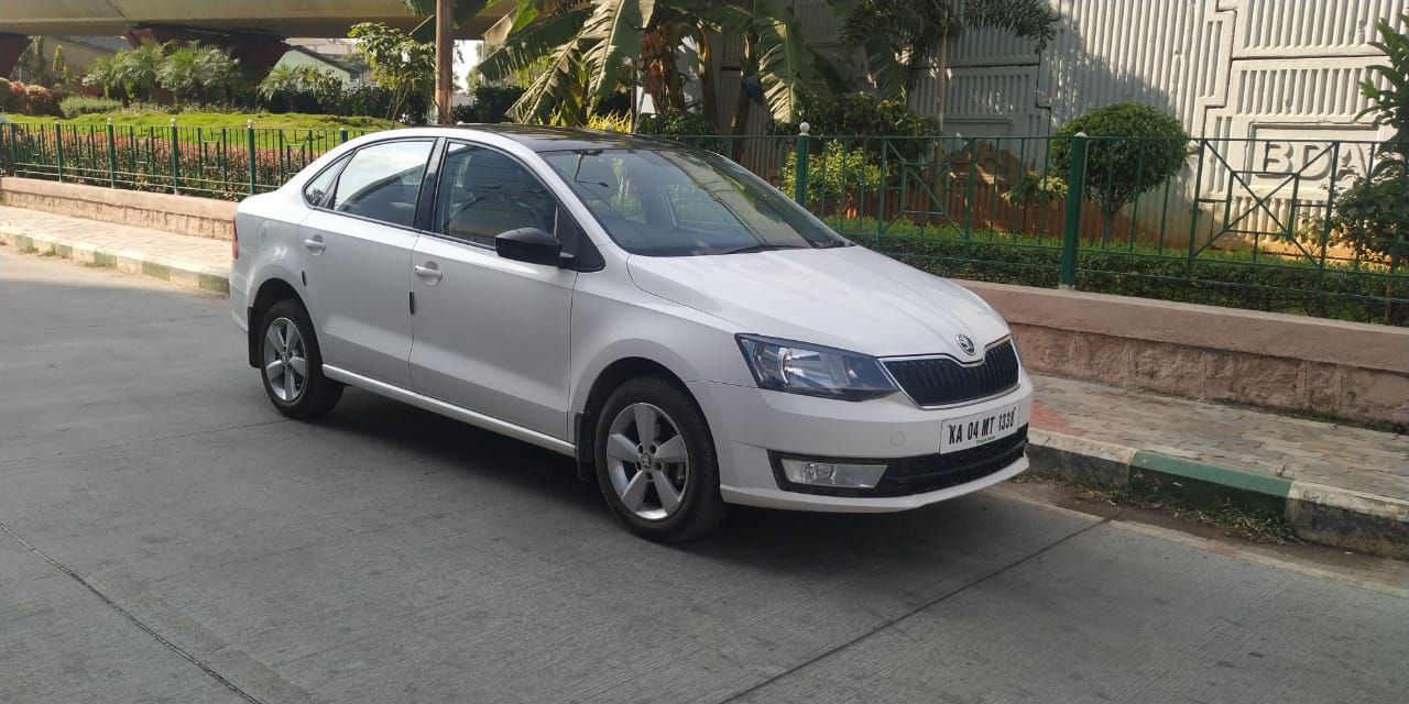2017 Used SKODA RAPID AMBITION 1.6 MPFI MT