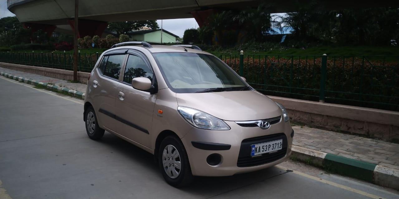 2010 Used Hyundai I10 SPORTZ 1.2 AT