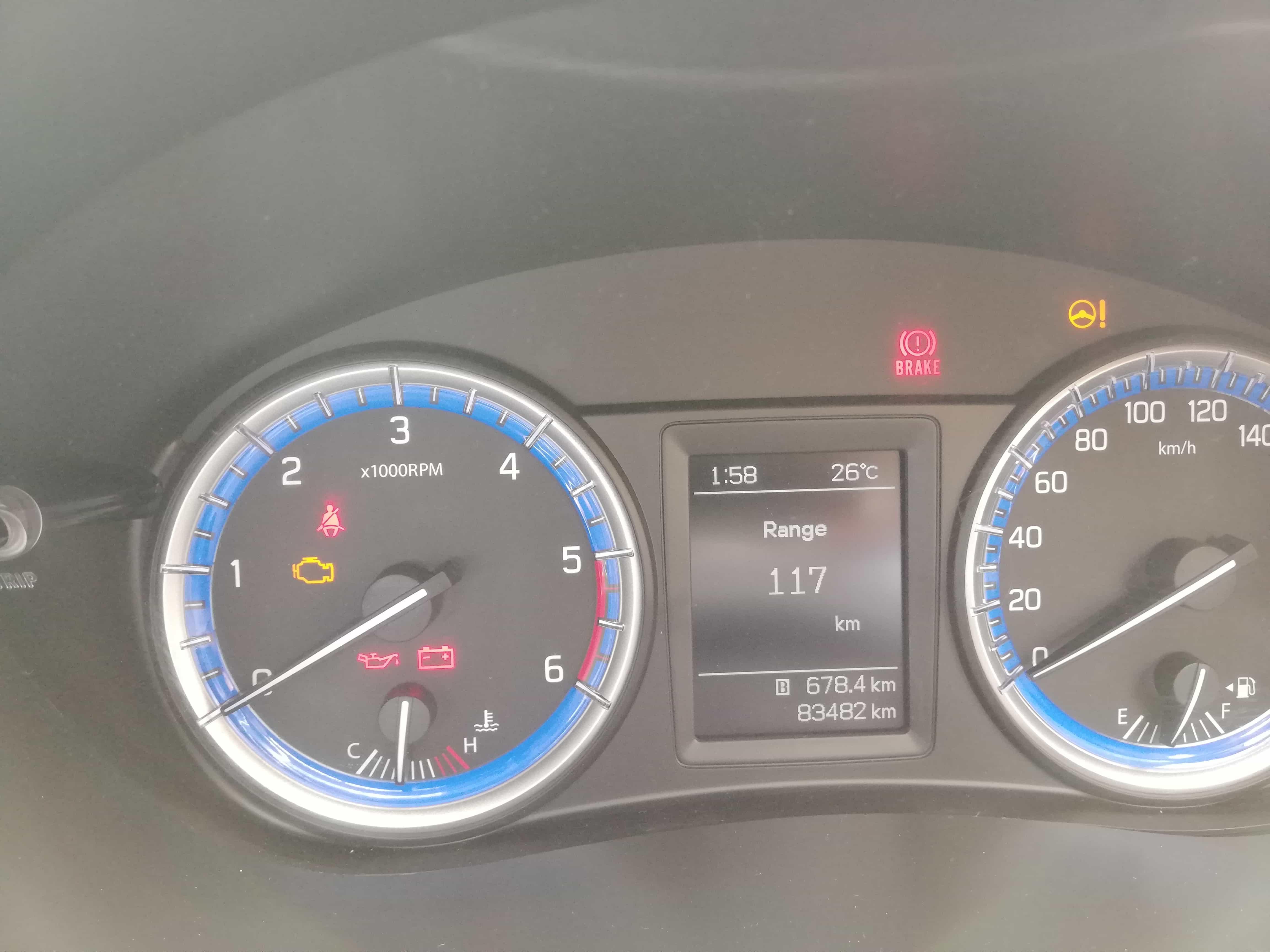 2016 Used Maruti Suzuki S Cross 1.3 SIGMA
