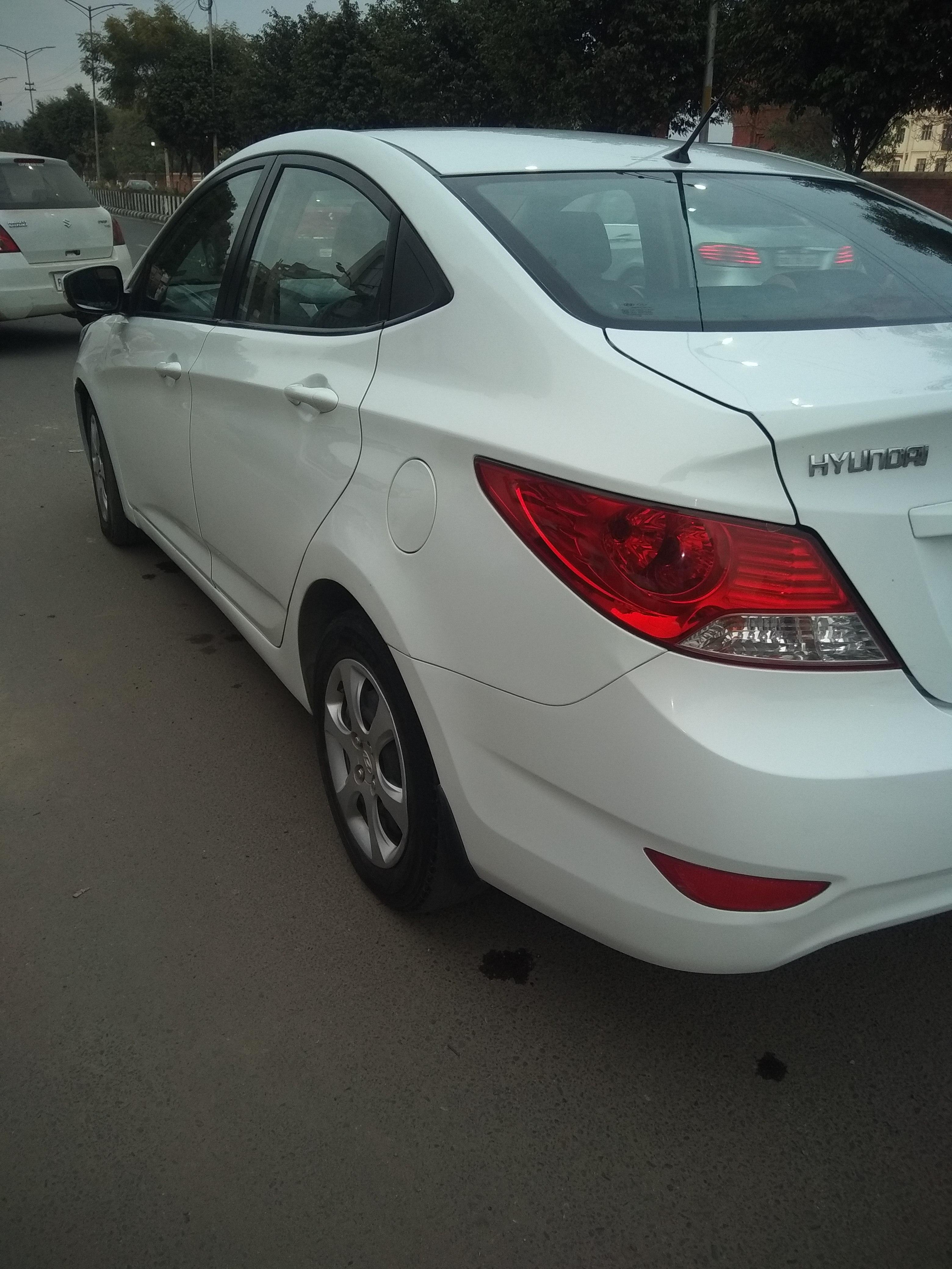 2011 Used Hyundai Verna FLUIDIC 1.4 EX CRDI