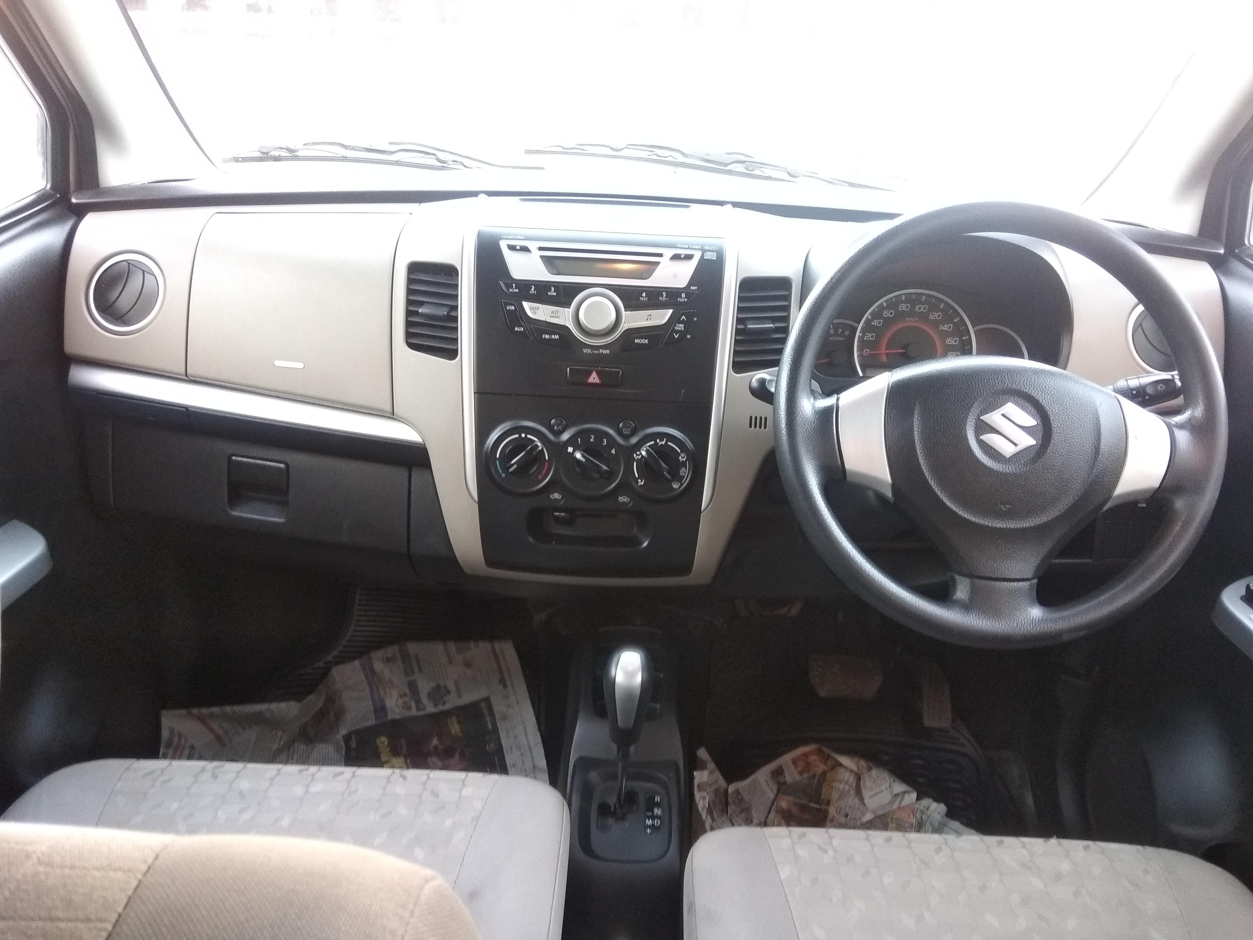 2015 Used Maruti Suzuki Wagon R VXI AMT