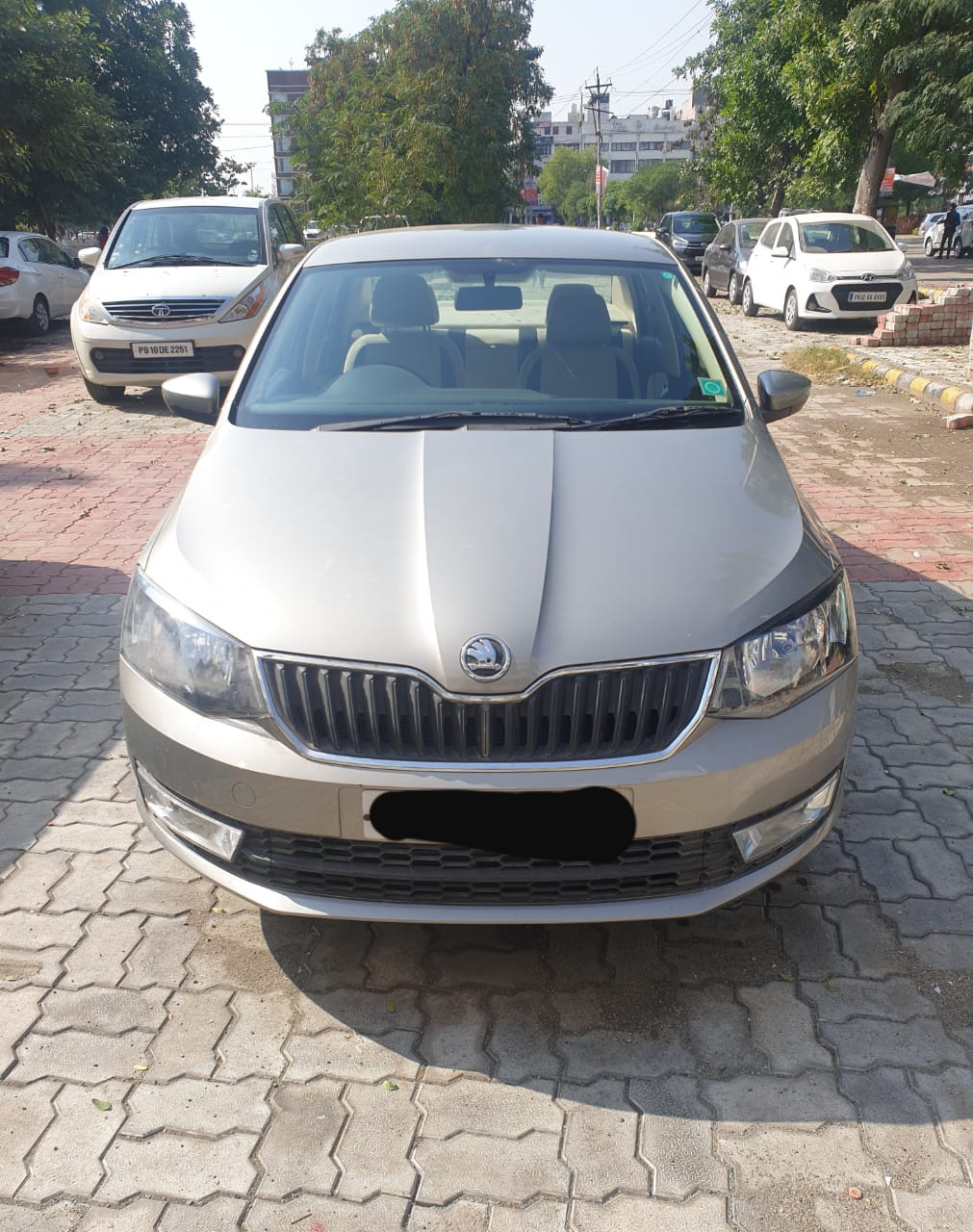 2018 Used Skoda Rapid 1.6 TDI MT AMBITION PLUS