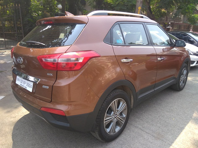 2017 Used Hyundai Creta 1.6 SX PLUS AT PETROL