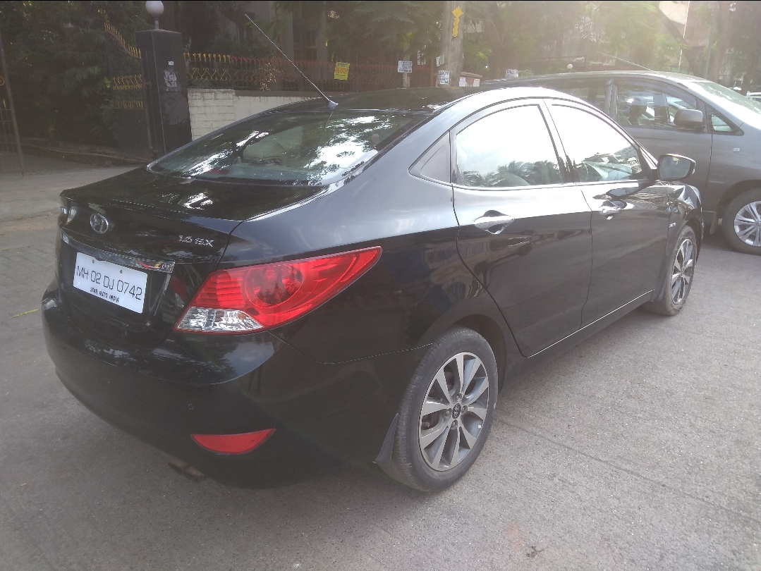 2014 Used Hyundai Verna FLUIDIC 1.6 SX VTVT OPT AT