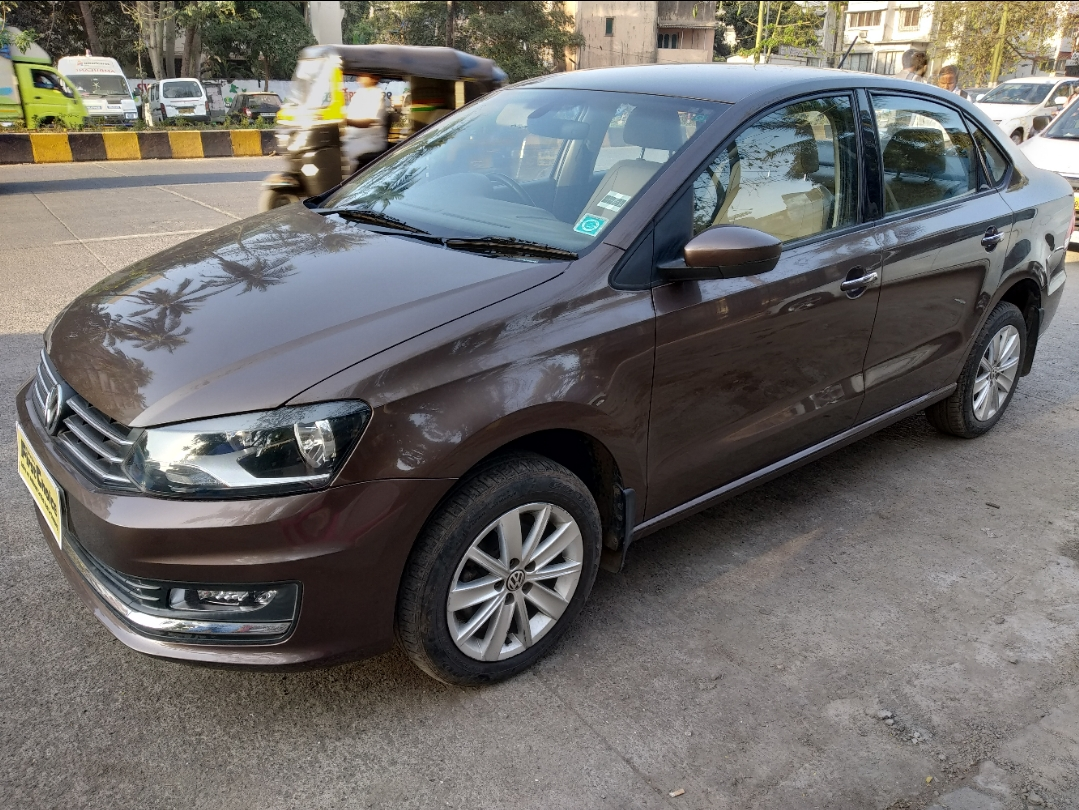 2016 Used Volkswagen Vento HIGHLINE 1.5 DIESEL AT