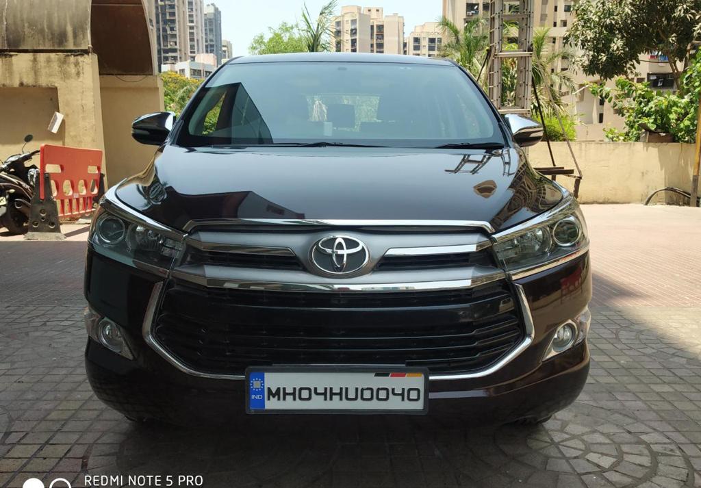 Toyota Innova Crysta 2 8 Zx At 7 Str Mahindra First Choice