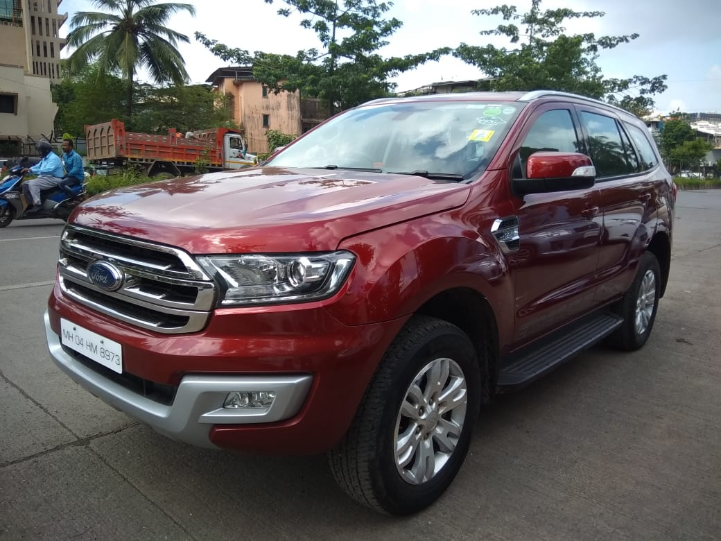 2017 Used FORD ENDEAVOUR(2016_2019) TREND 2.2 4X2 AT