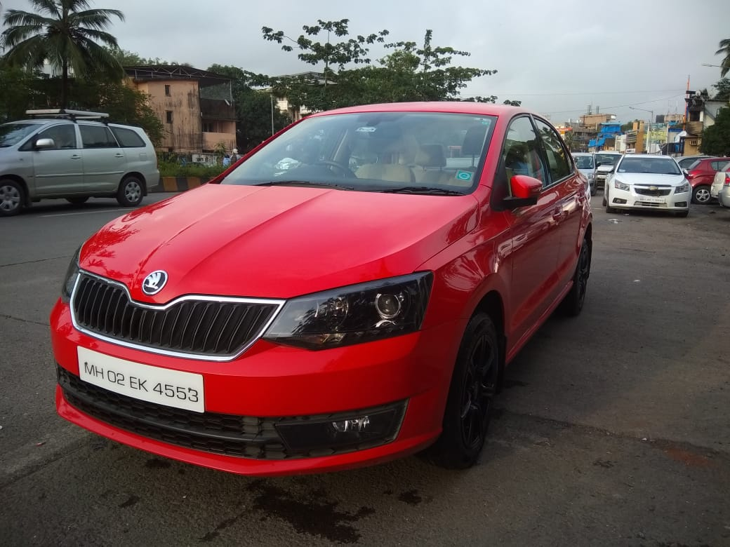 2017 Used SKODA RAPID 1.5 TDI CR STYLE PLUS BLACK PACKAGE