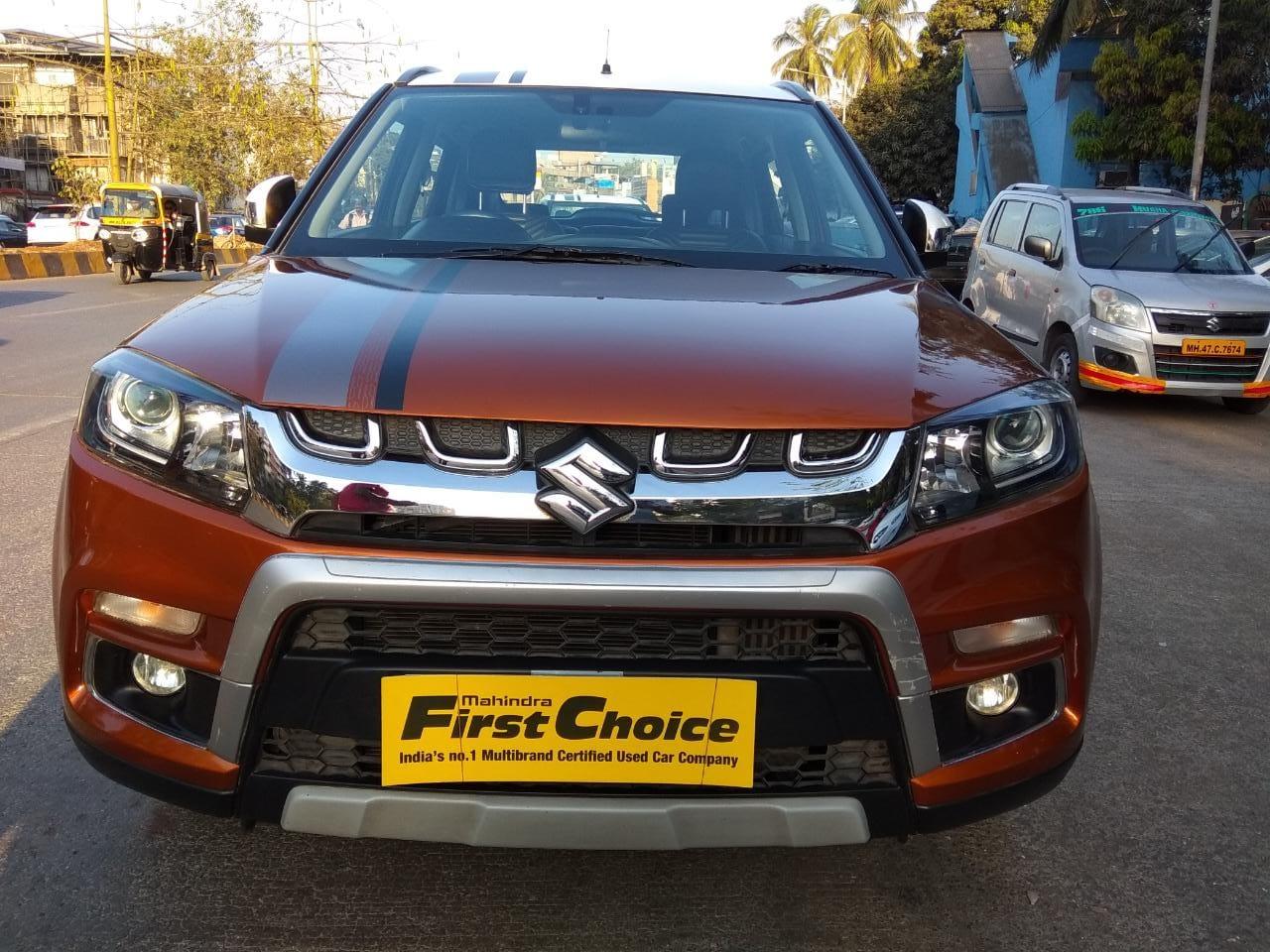 2018 Used Maruti Suzuki Vitara Brezza ZDI+ DUAL TONE AGS