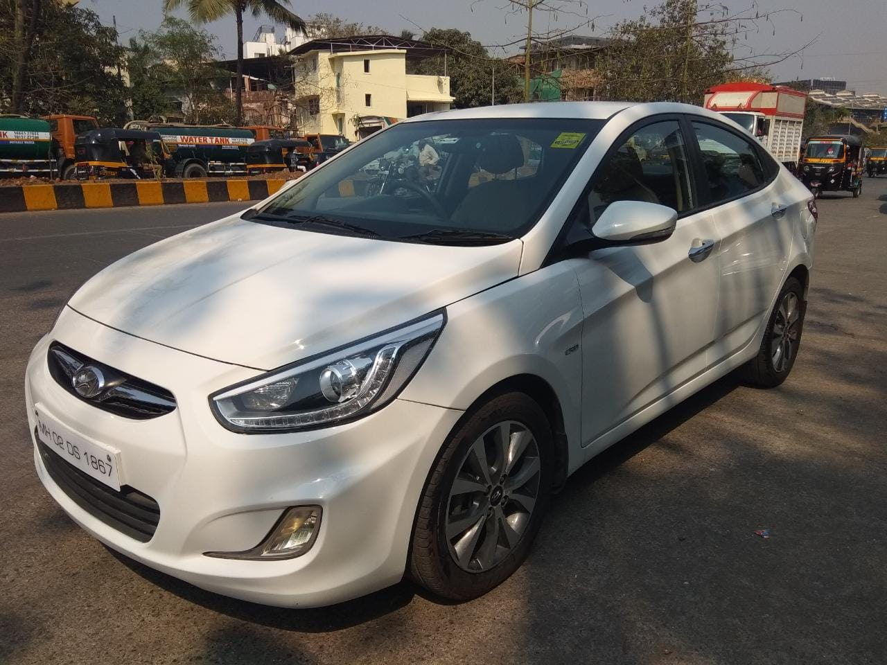 2014 Used HYUNDAI VERNA FLUIDIC 1.6 SX CRDI OPT AT