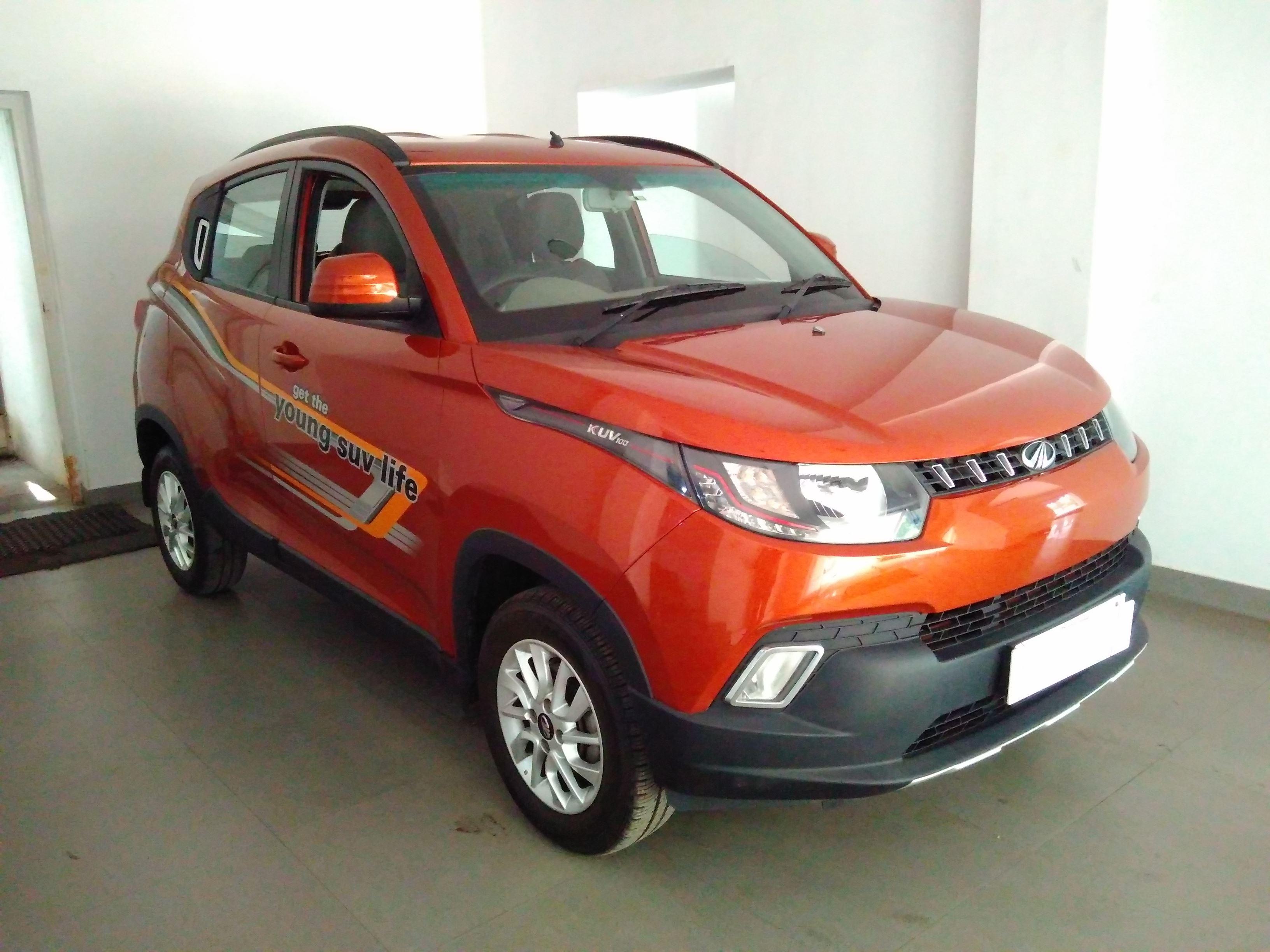 Mahindra Kuv100 K8 6 Seater Diesel Mahindra First Choice