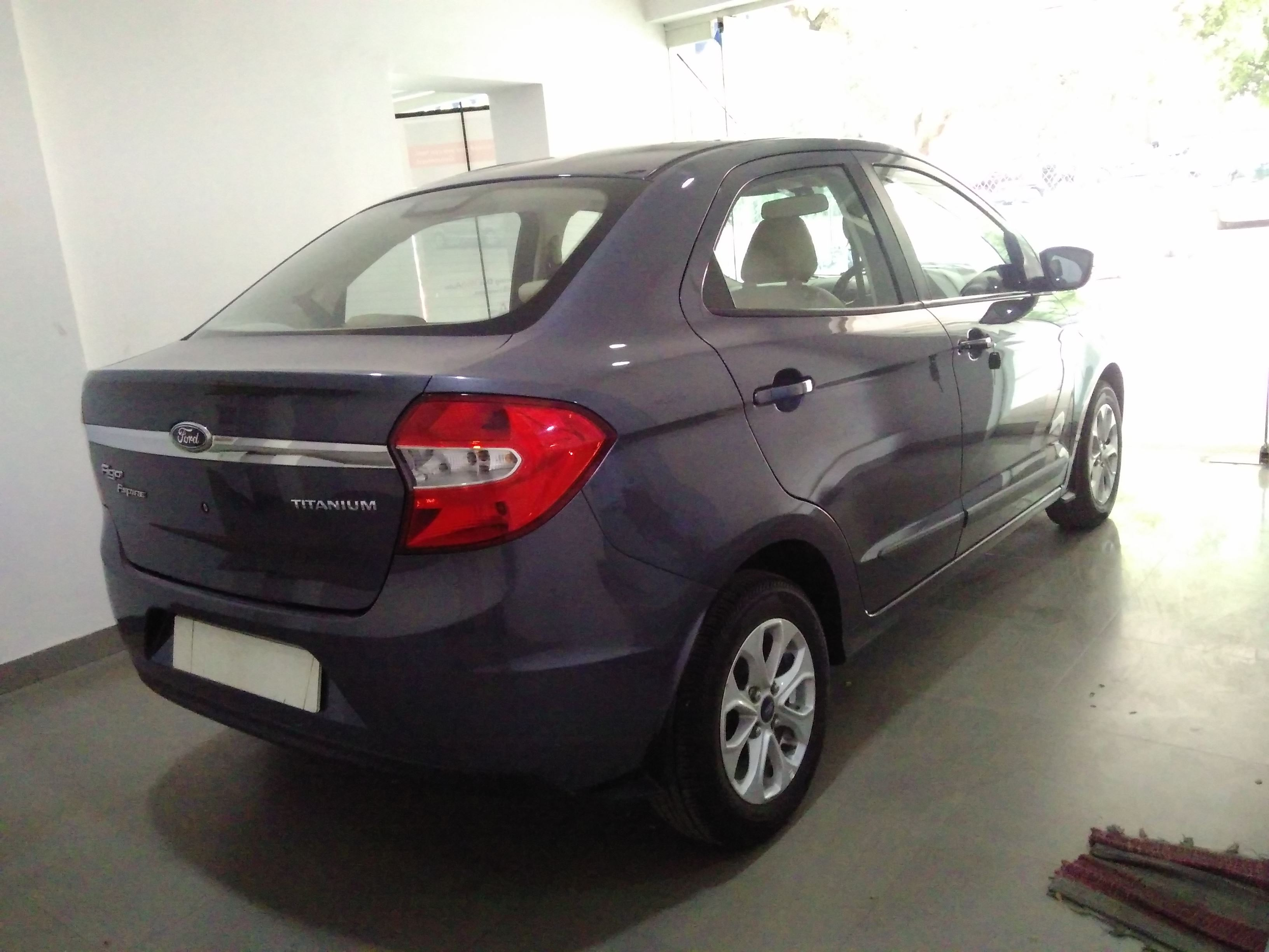 2016 Used Ford Figo Aspire TITANIUM +