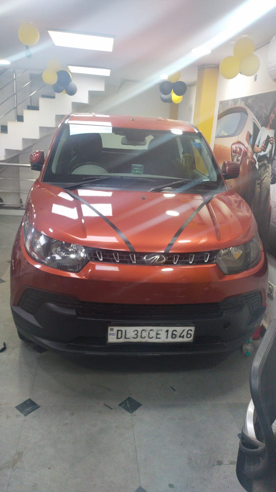2016 Used Mahindra Kuv100 K4 5 SEATER PETROL