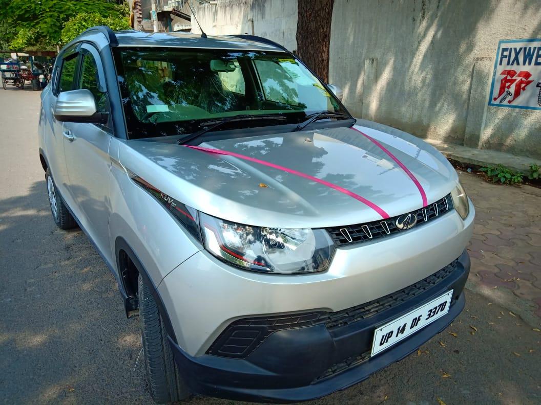 2017 Used Mahindra Kuv100 K4 6 SEATER PETROL