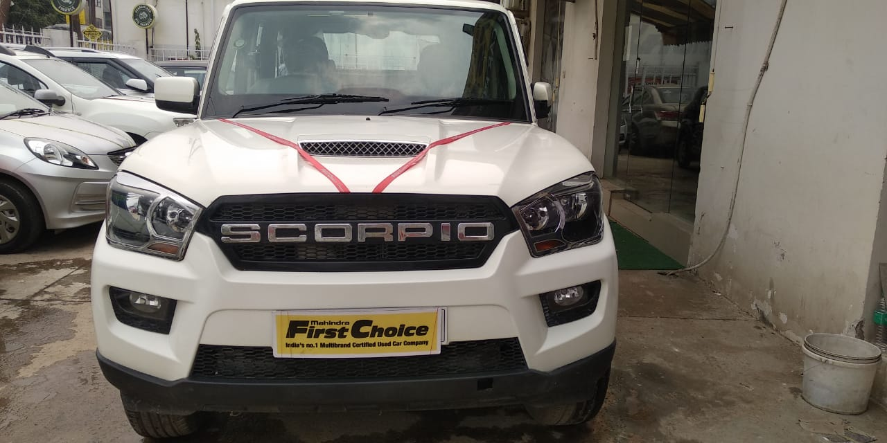 2017 Used Mahindra Scorpio S4PLUS
