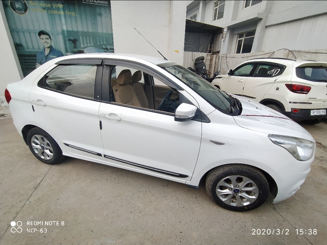 2015 Used FORD FIGO ASPIRE TITANIUM +