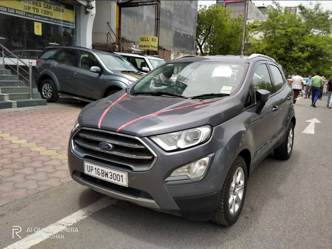 2018 Used FORD ECOSPORT TITANIUM + 1.5L TI-VCT AT