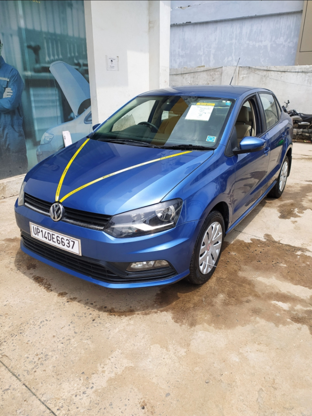 2017 Used VOLKSWAGEN AMEO COMFORTLINE 1.5L AT (D)