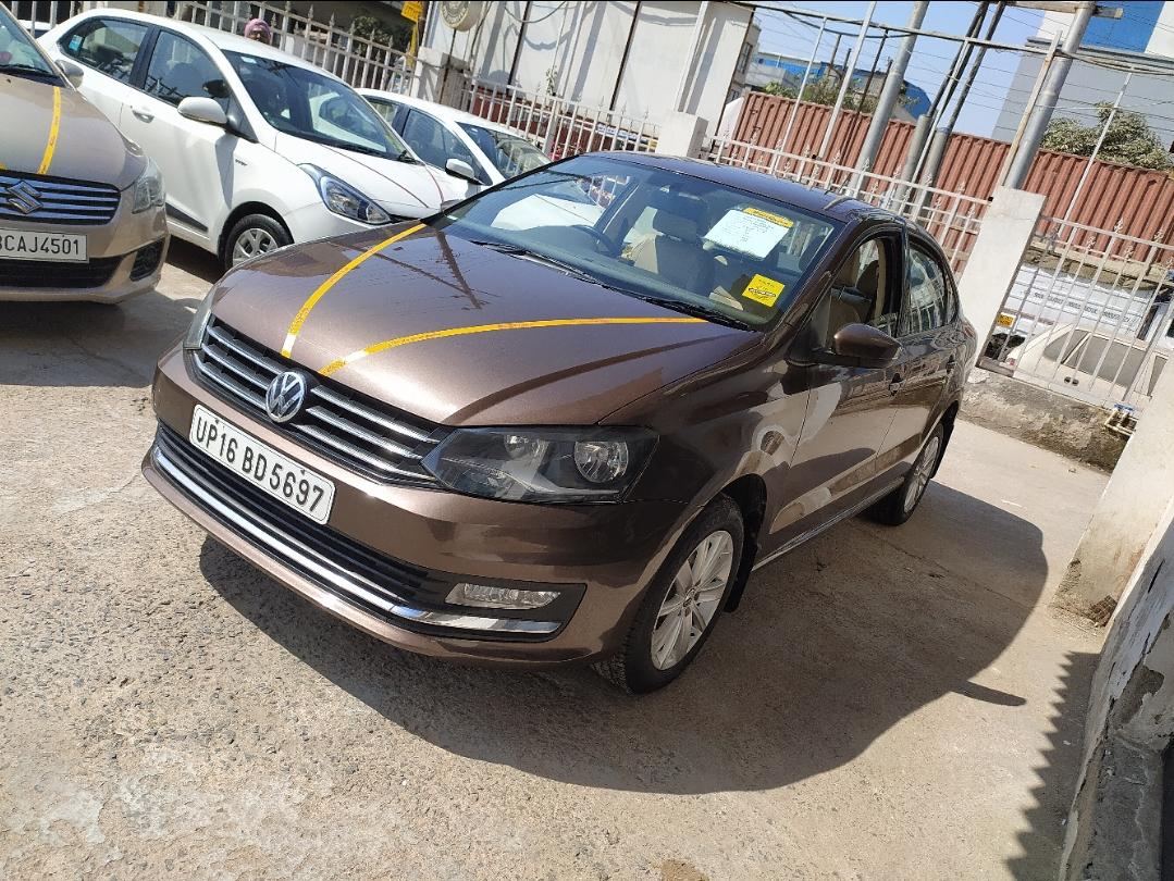 2015 Used Volkswagen Vento HIGHLINE 1.6 PETROL