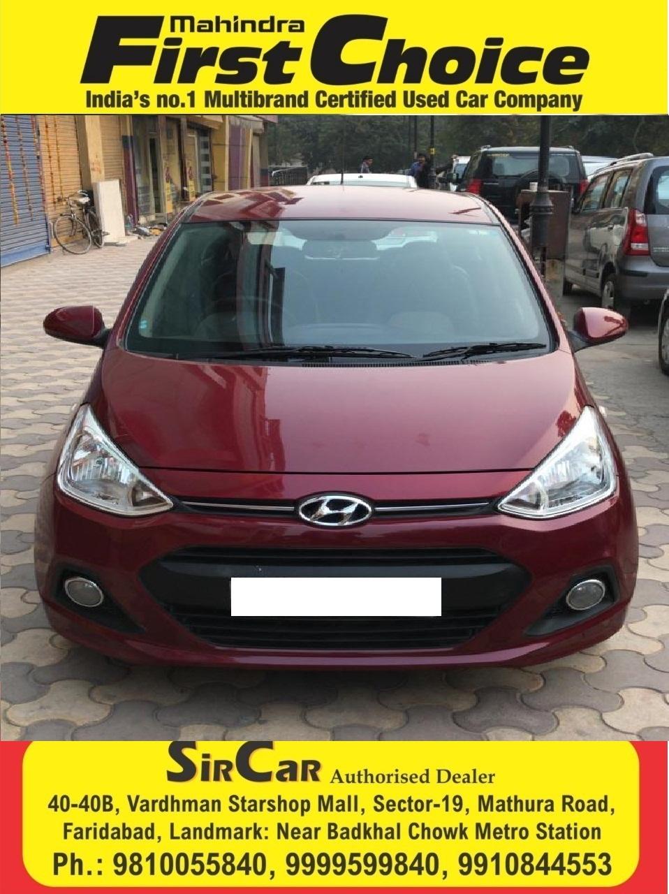 2015 Used Hyundai Grand I10 MAGNA 1.1 CRDI
