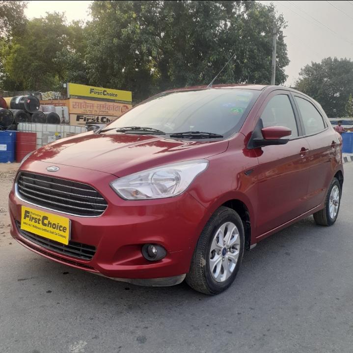 2017 Used Ford Figo TITANIUM 1.2