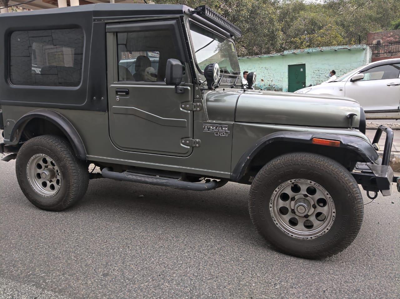 Used Mahindra Thar In Delhi Mahindra First Choice