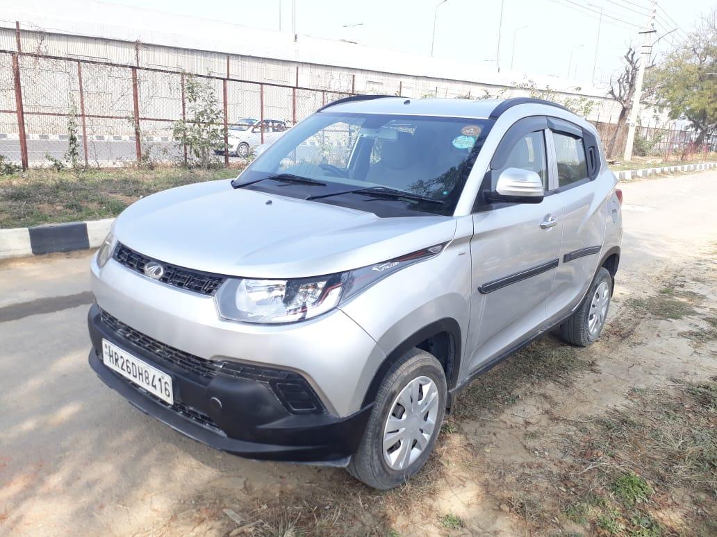 2017 Used Mahindra Kuv100 K4 5 SEATER PETROL