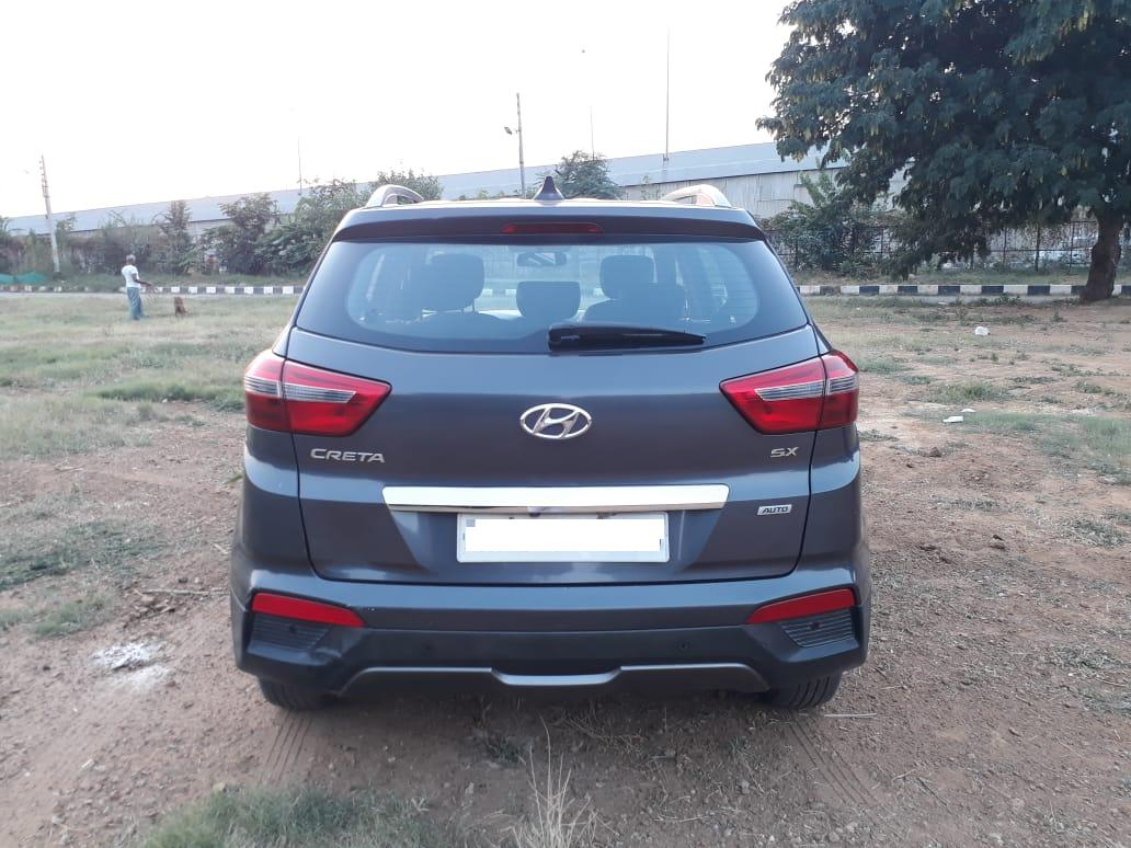 2015 Used HYUNDAI CRETA 1.6 CRDI AT SX PLUS