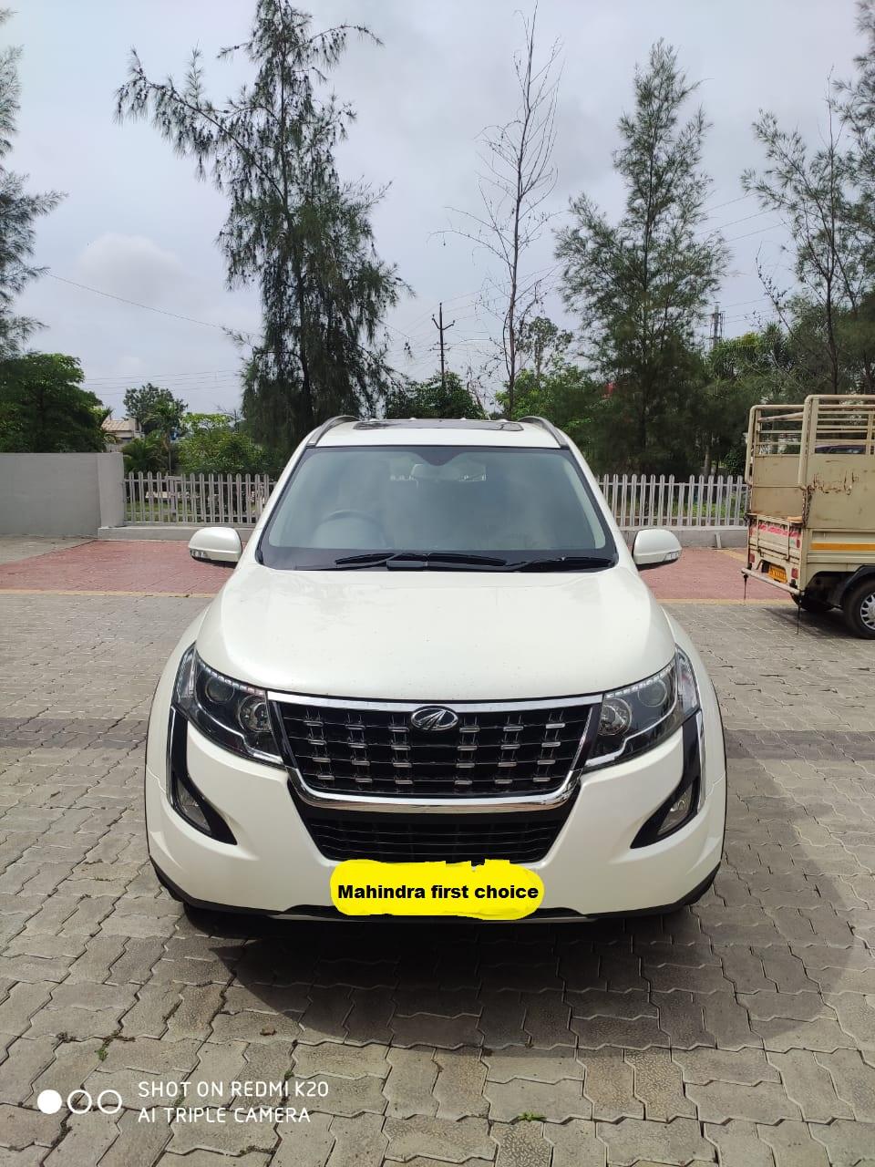 2018 Used Mahindra Xuv500(2017_2018) W10 AT