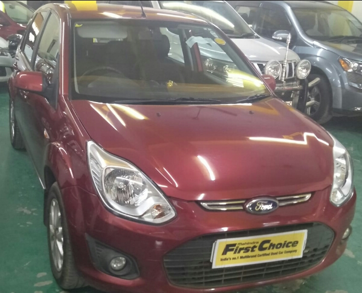 2014 Used FORD FIGO TITANIUM 1.2