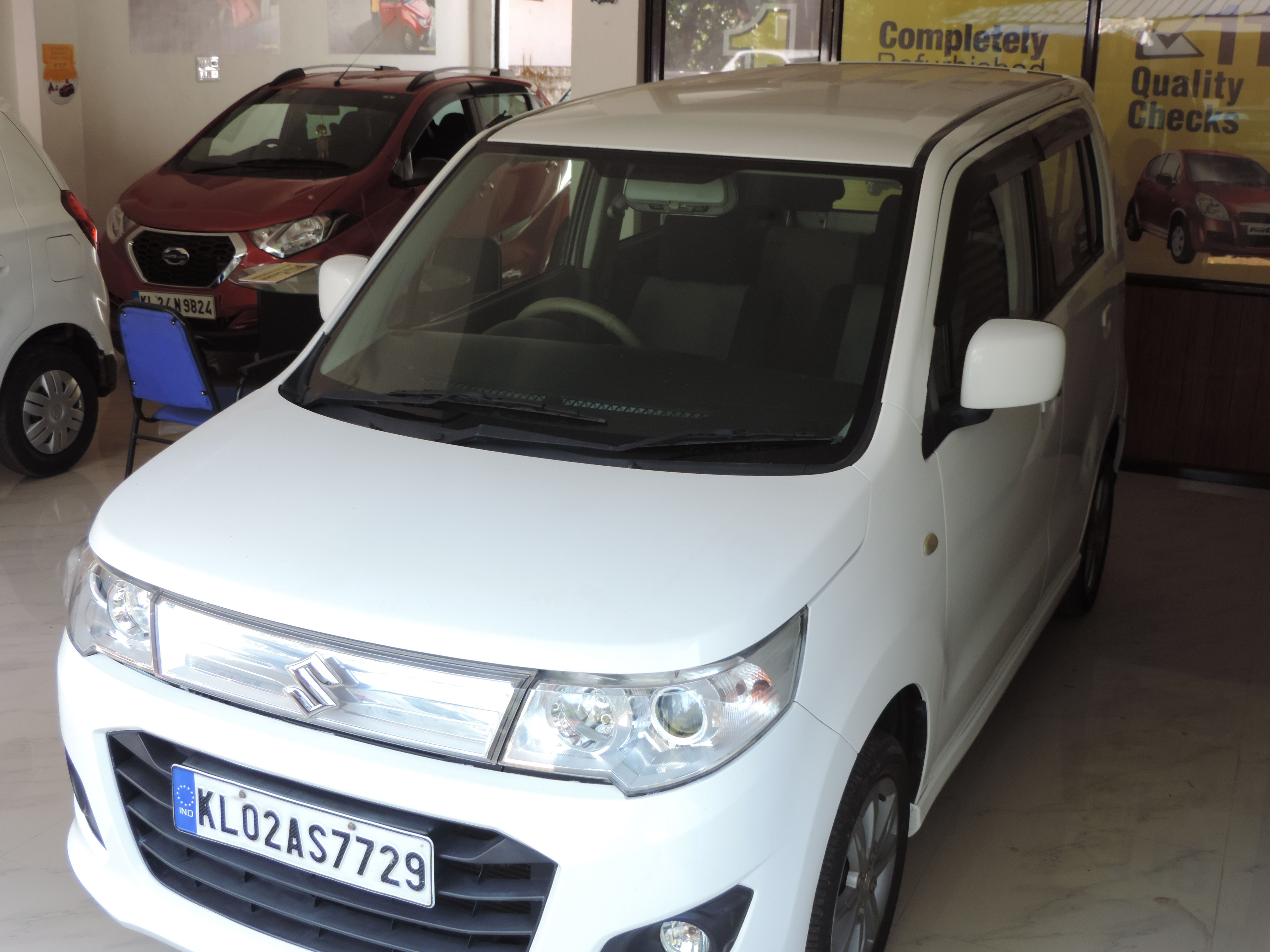 2014 Used MARUTI SUZUKI WAGON R STINGRAY VXI