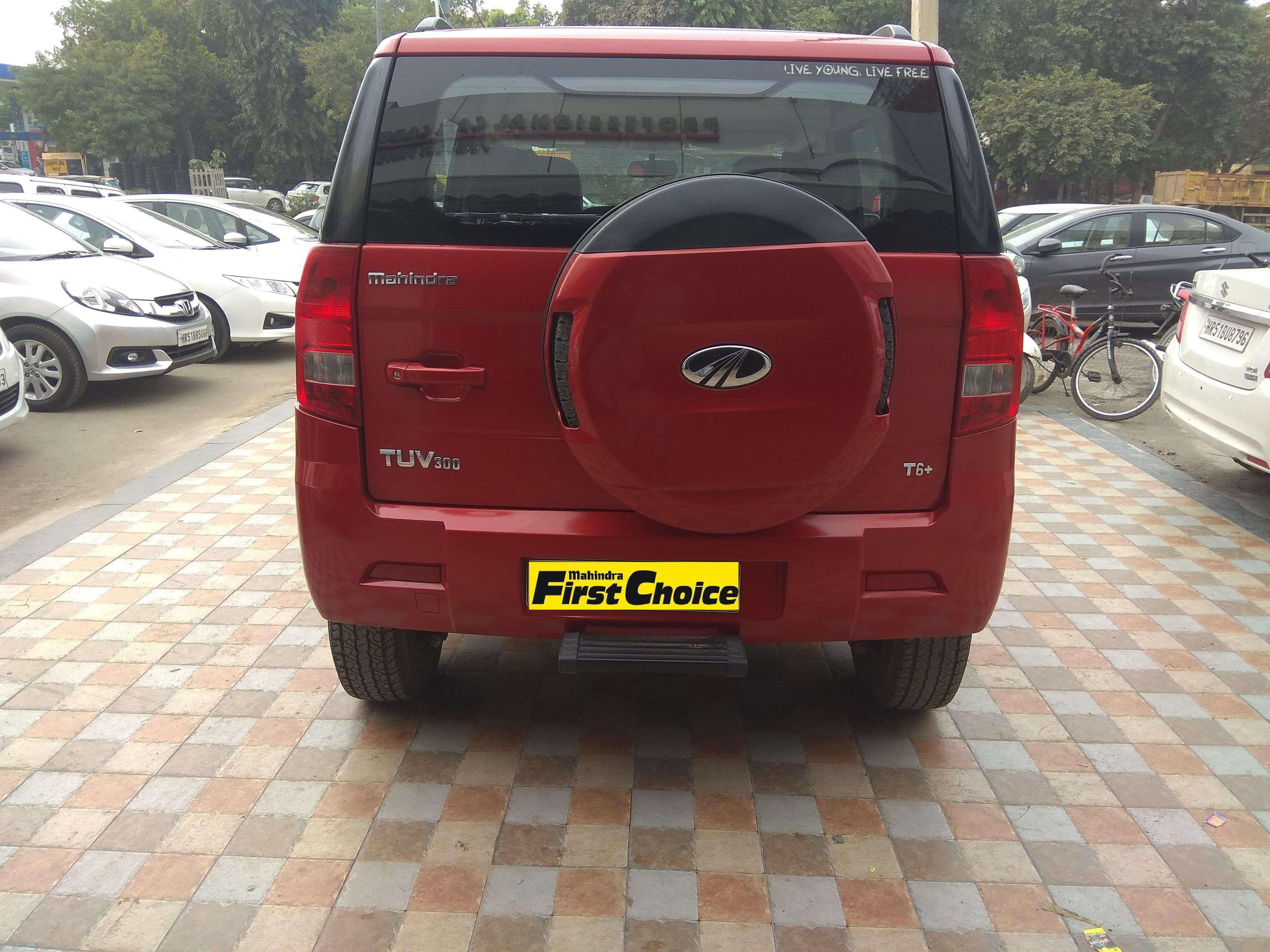 2017 Used Mahindra Tuv 300 T6 PLUS
