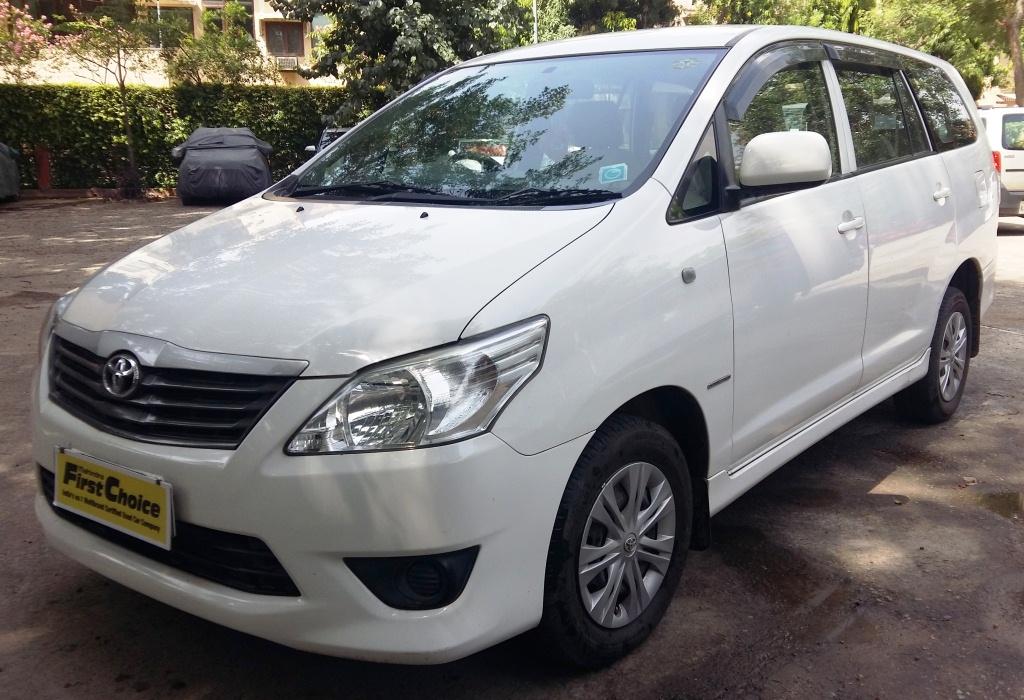 2013 Used Toyota Innova 2.5 GX 7 STR BS IV